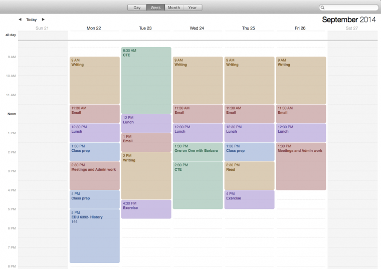 Be More Productive with a Weekly Schedule Template Higher Ed – Weekend Scheduled Template